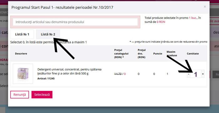 Incasare bonus Faberlic Romania