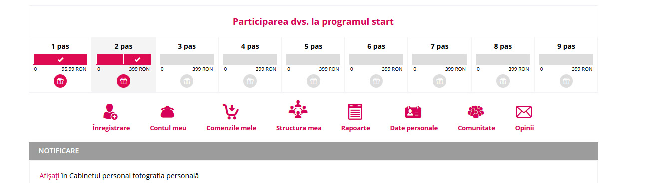 Program Start Faberlic