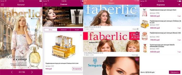 Faberlic Aplicatie Mobil