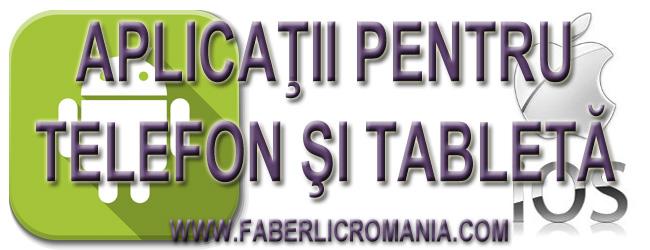 Faberlic aplicatie telefon mobil