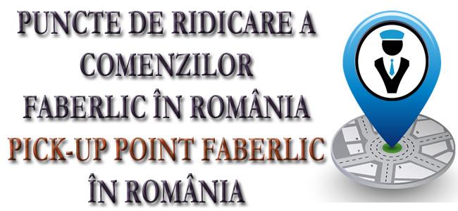 Puncte livrare Faberlic