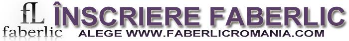 Faberlic ROmania inscriere