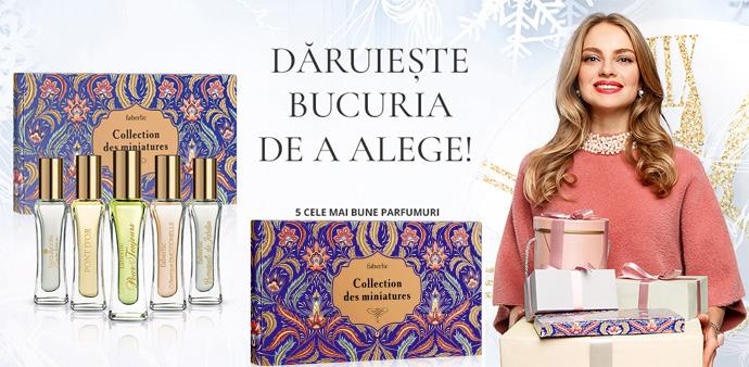 Parfum miniatura Faberlic