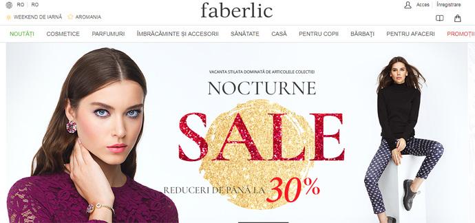 www.Faberlic.com setare limba romana