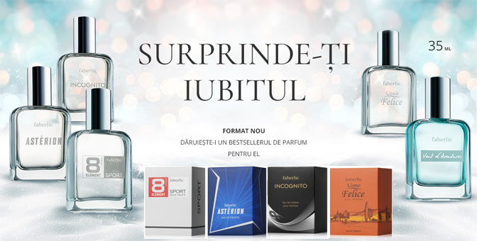 Pret parfumuri Faberlic