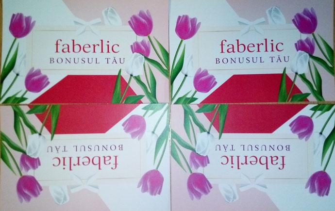 Utiliyare card bonusul tau Faberlic