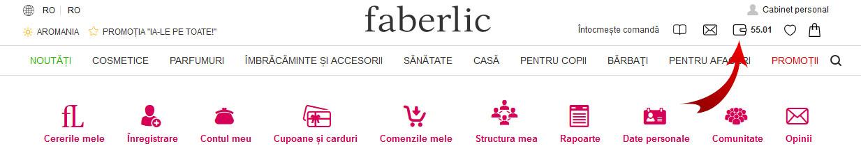 Puncte cadou Faberlic