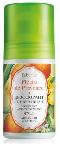 Deodorant vanilie portocala
