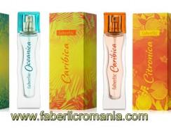 Faberlic România: parfumurile Caraibica, Citronica şi Oceanica