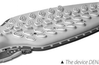 Aparat DENAS-Vertebra electrostimulare şi masaj dinamic