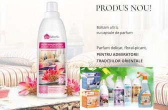 Faberlic România produs nou: ultra balsam de rufe