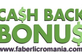 CashBack în locul discountului Faberlic