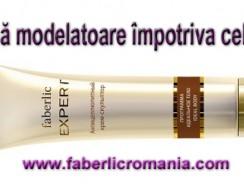 Crema modelatoare anticelulitică din gama Expert Faberlic