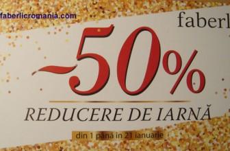 Faberlic România: cuponul de reducere – 50%