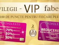 Faberlic România: privilegii VIP