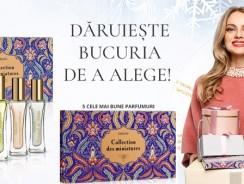 Produs nou Faberlic: set 5 parfumuri miniatura de 7 ml