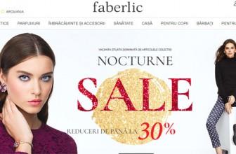 Setare limba română pentru www.faberlic.com