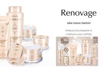 Faberlic România gama de produse Renovage