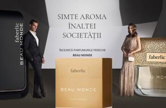 Faberlic: noile parfumuri Beau Monde pentru femei şi bărbaţi