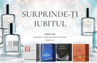 Faberlic România: parfumuri bărbăteşti în eşantioane noi